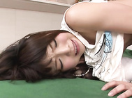 Asian ass fucking with sleazy Jun Mamiya is a true pleasure to watch expecially that naughty gal is tied up in a special Asian bondage anal adventure.