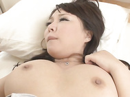 Asian anal has always made Hinata Komine to feel amazing and now it's time for voluptuous model to bend her ass and enjoy one large dong deep inside her wet butt hole during stunning Asian anal porn show.