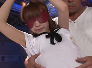 Sana Anzyu's hairy japanese pussy filled with cream.