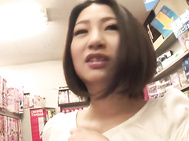 Cutie gets hard fucked in her hairy Asian cunt.