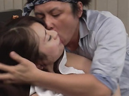 Japanese milf goes nasty on two tasty dongs.