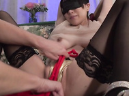 Asian bondage porn show along a busty mom.