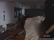 Awesome Shoko Mikami, Asian teacher and female cohort enjoy schooltime threesome Video Online.