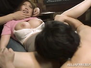 Superb Asian model gets fucked hard and made to scream in one amazing hardcore action!.