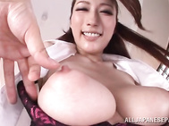 Arousing hottie with big tits and tight pussy Julia loves having her cunt deep drilled by horny male with hard desires.