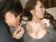 Guys this Japanese woman have the biggest tits that you have ever seen.