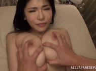 Roles change as she is made to suck cock.