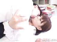 Lovely Asian milf is a piano teacher giving her student a lesson.