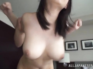 She wants to seduce her partner and she manages to do it.