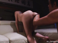 he luscious beauty with incredible nude forms gets on her knees and gives a passionate head before getting her cunt licked.