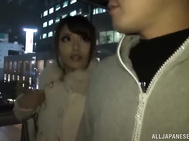 Amazing Japanese babe Ayu Sakurai gives a ride gets creampied.