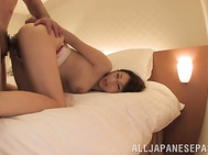 She starts with a slow pov blowjob, cock sucking like a true angel while moaning of lust, having every inch of the cock pleasing her needs before doggy style fucking in true hardcore manners.