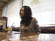 Asian housewife Julia gets hard pounding by her hubby.