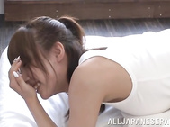 Hot sex loving chick Shunka Ayami gets teased and fucked by her horny boyfriend and enjoys doing it on pov Asian porn video and she watches herself on a big screen in her room.