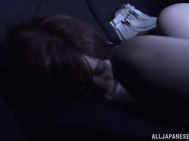 Sweet and sensual Asian lassie Rina Ishihara enjoying her wild sexual fantasies turned to reality.