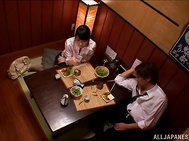 Helpful Japanese milf Kana Yume pleases her lover with intensive riding.