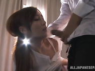 Hot and sexy Asian milf Kaede Fuyutsuki enjoys banging.