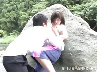 Kinky schoolgirl enjoys being fucked.