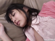 Pretty looking Japanese hottie Tsukasa Aoi is followed by one horny guy who likes her lean body and nice ass.