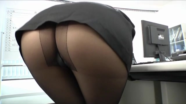 Shinoda Ayumi is a hot Asian mature babe enjoying showing off her fine ass until her boss sees her! He is a horny guy, and this hot office lady gives him a hot blowjob before things get hardcore and she gets her pantyhose ripped so he can lick her pussy w