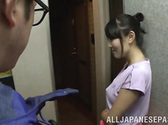 Superb Reon Otowa receives cock deep in her hairy cunt.