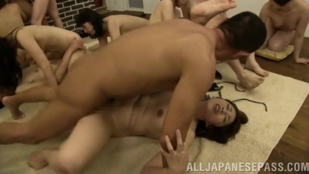 The sex-starved ladies seem to have fire in their naughty pussies, and they engulf and ride cocks as crazy, and get massive cumshots on their tits and faces. 2