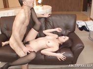 she gets fingered and fucked hard, enjoying a huge facial.