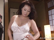 Masturbation with hot mature babe Neko Ayami.