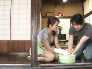 Mature and sexy as hell Mirei Kayama is a hardcore housewife.