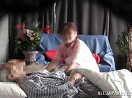 Mature lady gets nasty in front of her hubby.