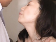 She gets a rear fucking and goes for a dick ride and gets a real hard fucking before she does a little handwork on a cock! Maya Sawamura is one hot Asian MILF who likes teaching her horny students!.