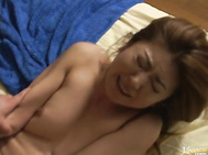 Reona Azabu is a mature Asian lady who is busty and hot.
