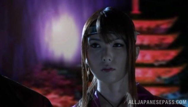 Horny Yui Hatano likes role playing during sex - Japanese Cosplay.