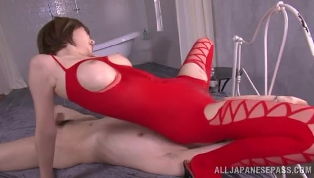That's why she decides to put on a sexy costume and take part in a stunning female domination action where she will surely endure passionate pussy licking session!.