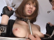 Hot milf Yuma Asami in bondage lingerie gets her head fucked - Japanese Cosplay.