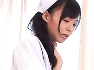 Aino Kishi is a hot Japanese nurse who serves her patients well.