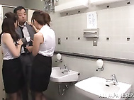 Adorable Yuna Shiina gets nailed in threesome.