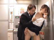 Getting alone time in this office is not an easy thing, but this hot office chick and her friend found some place to fuck at the office that they won't easily be seen.