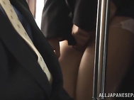 Hot Japanese babe Yuki Kami enjoys public sex.