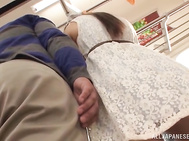 Naughty teens decide to bang in public.