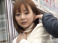 Cutie is a true master in cock sucking and has no shame to go wild in public places.