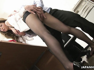 New office girl� China Mimura needs to prove her devotion to the company.