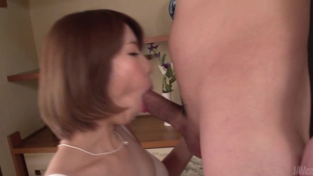 Lovely Seira Matsuoka is one naughty Japanese av mode that loves cracking her fine pussy in rough manners.