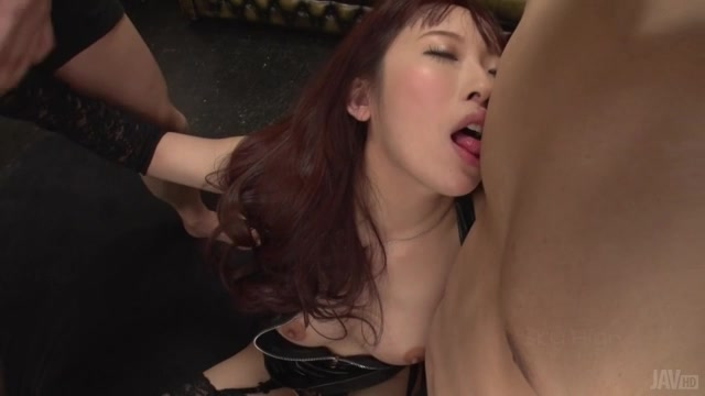 Watch her enjoying sex in threesome after having both her pussy and ass smacked with toys, all during a perfect av Japanese adventure which got her very wild and nasty.