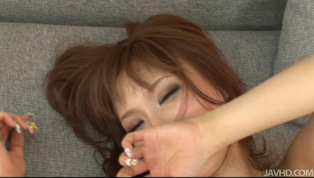 Anal licking and finger banging foreplay goes on until a hard cock rams her cunt.