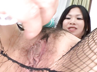 Hot anal plugging for Nana Saitou and a friend in group sex.