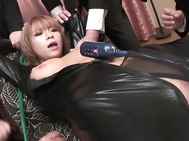 Everyone's Cumming On Sumire Matsu's Big Tits.