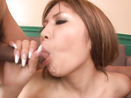Watch superb gal shaking her big tits while cock is slamming down both he holes in a fantastic group fuck adventure.