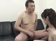 Watch her shaking her big boobs and moaning like a little bimbo while gently having the dick deep in her juicy pussy.