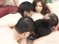 Hot babe with sexy Asian tits loves to play hard.